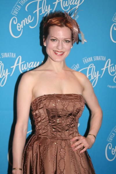 Holly Farmer at COME FLY AWAY Opening Night Party Arrivals