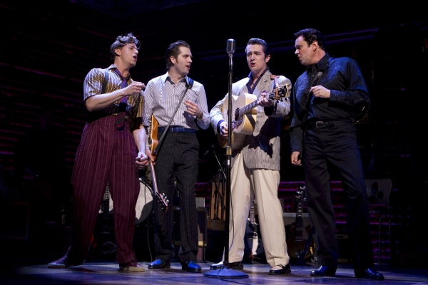 Photo Flash: MILLION DOLLAR QUARTET Production Photos