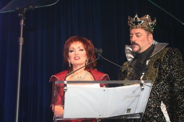 Robin Strasser and Emperor Gabriel x Della Notte