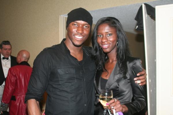 Victor Sho and Hannah Omolade