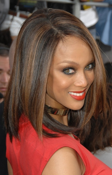 Tyra Banks at Nickelodeon's Kids' Choice Awards!