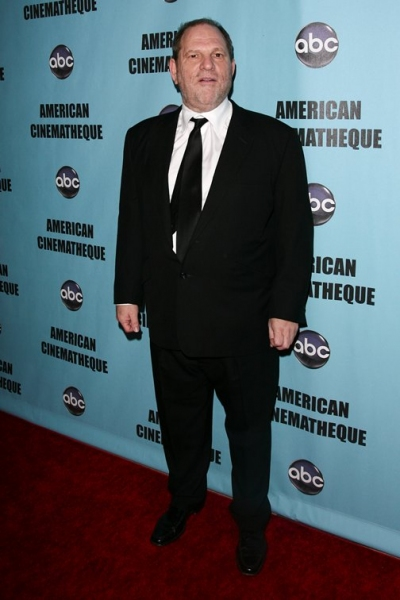 Harvey Weinstein  at 24th American Cinematheque Award Honors Matt Damon