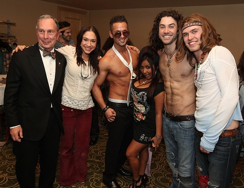 Photo Coverage: Mayor Michael Bloomberg, Snooki & 'The Situation' Join HAIR Tribe at Inner Circle Benefit