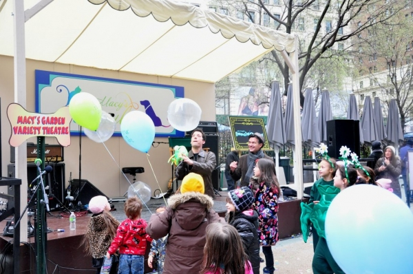 Photo Coverage: Tharp, COME FLY AWAY, and Tartaglia for Macy's Flower Show