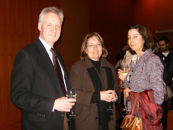 Steve Peterson, Betsy Peterson and Lisa Shives Photo