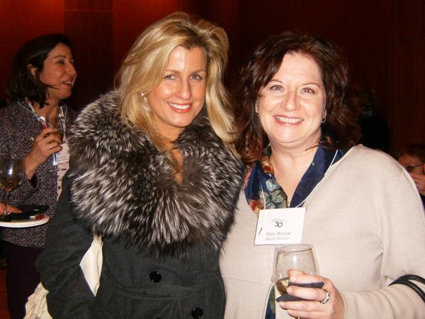 Noreen Heron Zautcke and Mary Rownd Photo