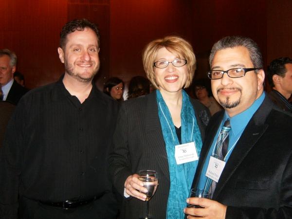 Michael Albert, Arlene Malinowski, Richard Perez