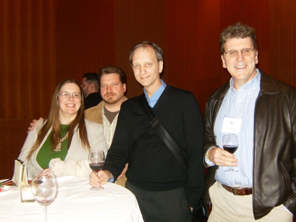 Jenniffer Thusing, Robert Groth, Will Cooper and Rob Koon Photo