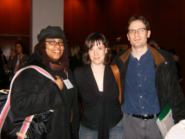 Ilesa Duncan, Mia McCullough and David Senechal