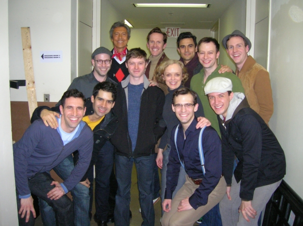 Photo Flash: Tommy Tune Visits YANK!