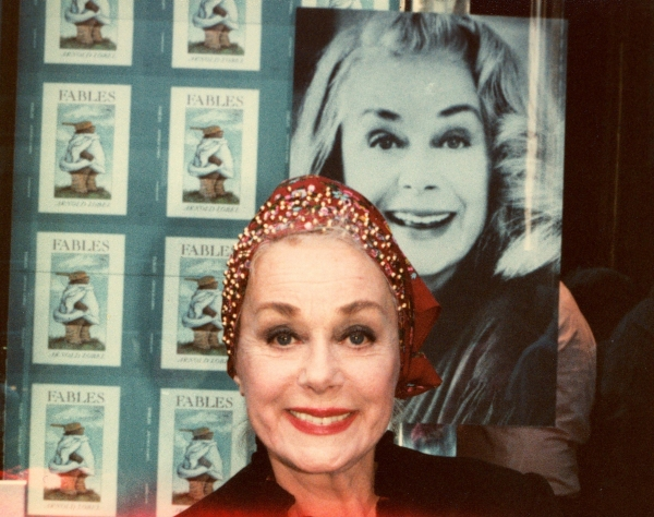 June Havoc in New York City, 1980