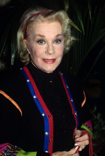 June Havoc in Los Angeles, 1989
