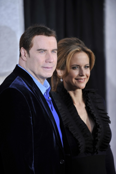 John Travolta and Kelly Preston at 'The Last Song' Premieres in Hollywood