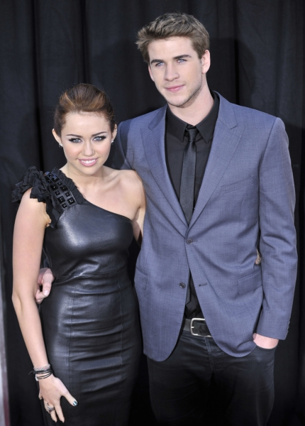 Miley Cyrus and Liam Hemsworth Photo
