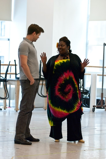 Photo Coverage: Paper Mill Playhouse's Smokey Joe's Cafe in Rehearsal