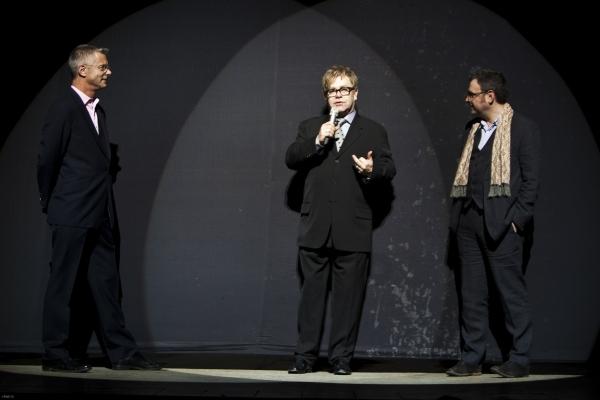 Stephen Daldry, Elton John and Lee Hall Photo