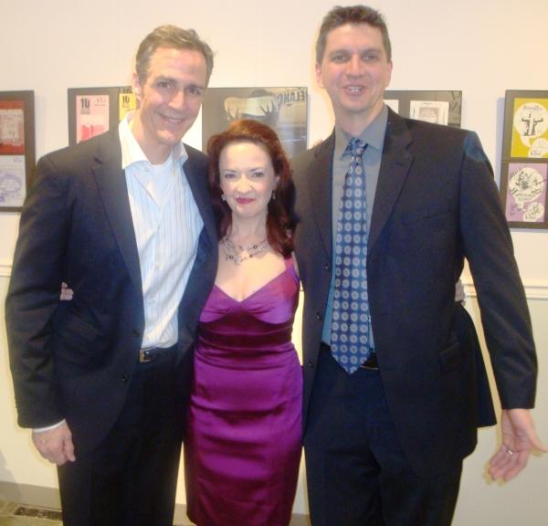 Howard McGillin, Michele Ragusa and Rob Richardson