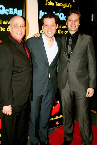 Phillip Katz, John Tartaglia, Michael Shawn Lewis