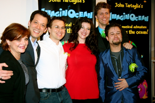 Donna Drake, John Tartaglia, Emily DeCola, Eric Schupbach, Eric Wright Photo