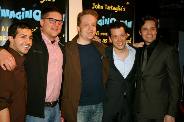 Christopher Sieber, John Tartaglia, Michael Shawn Lewis