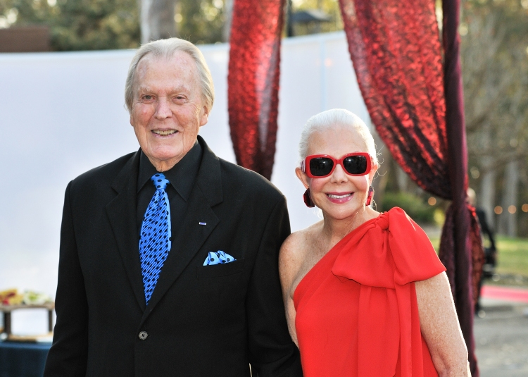 High Res Don Breitenberg with wife, Playhouse Trustee Jeanne Jones