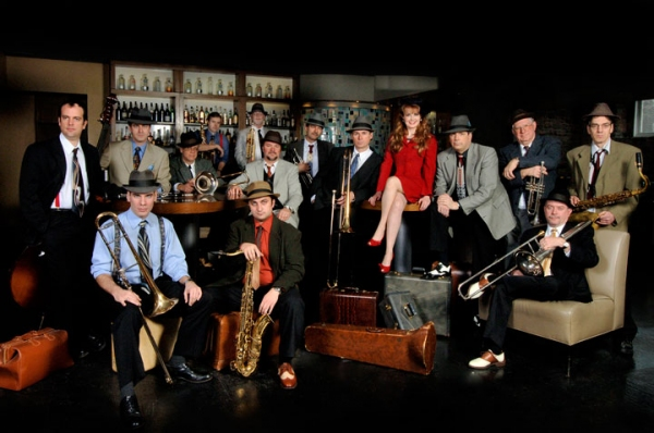 Holly Larocque  and the Mark Ferguson Orchestra