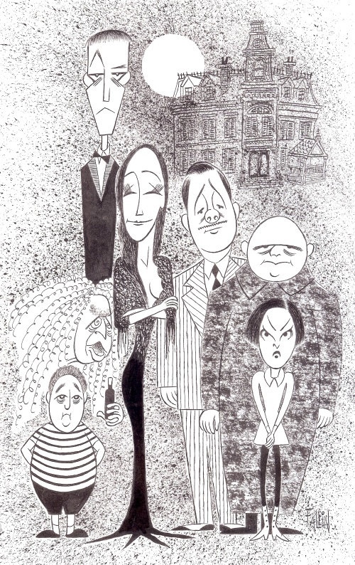 Ken Fallin Illustrates: THE ADDAMS FAMILY