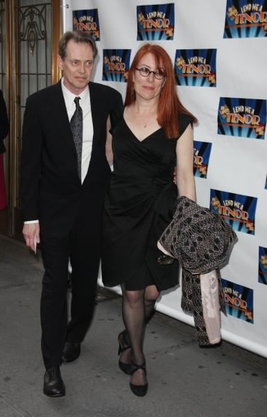 Steve Buscemi & Wife Photo