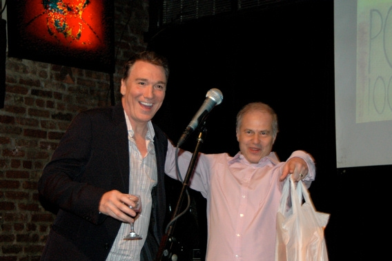 Patrick Page and Glen Roven at 'Poetic License' Release Celebration