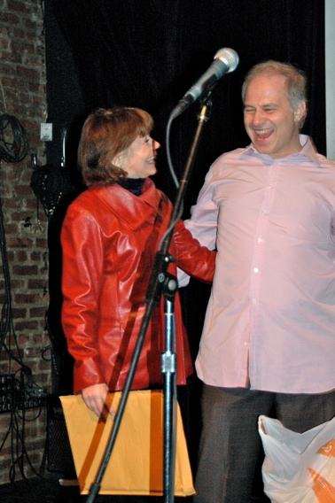 Alice Playten and Glen Roven at 'Poetic License' Release Celebration