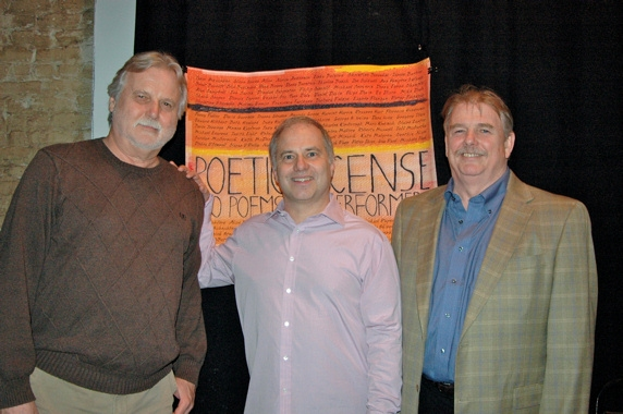 GPR Records-Peter Fitzgerald, Glen Roven, Richard Cohen at 'Poetic License' Release Celebration