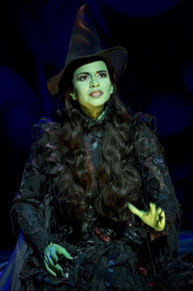 Photo Flash: Mandy Gonzalez as Elphaba!