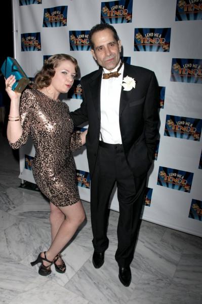 Mary Catherine Garrison & Tony Shaloub Photo
