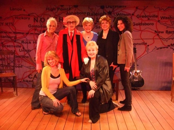 Gina Stewart, Elaine Stritch, Teri Ralston, Donna McKechnie and Liza Vann, Lauren Kennedy and Sally Mayes