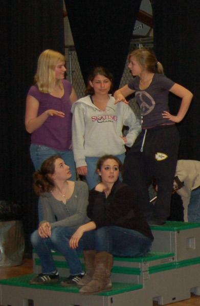 Jill Proto (Norfolk, Ma), Katie Armstrong (Mansfield, MA), Michal Clayton (Kendra), Lexie Lieberthal (Charlotte), Rosie Meyers (Lucy), Matt Hawley (Sharon, Ma), Alex Fullerton