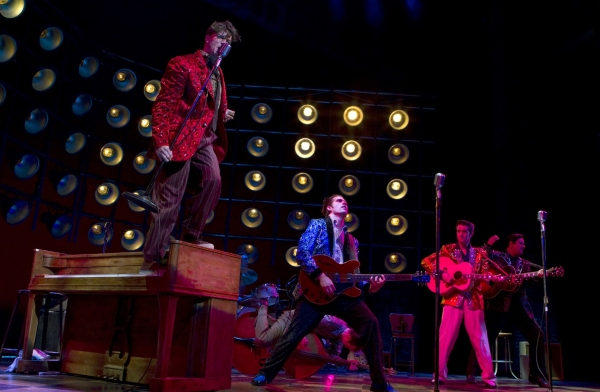 Photo Flash: MILLION DOLLAR QUARTET New Production Photos!