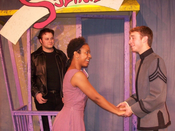 Jordan Stocksdale as Chad, Patricia Targete as Lorraince, and A.J. Dorsey