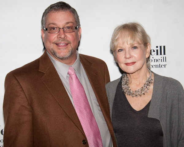 Director Michael Bush and Penny Fuller Photo