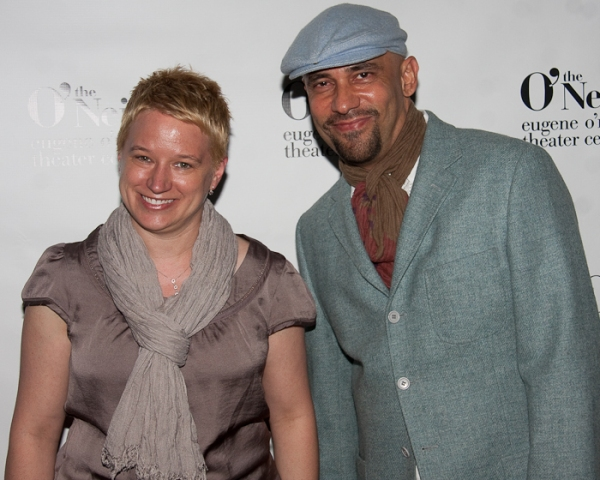 O'Neill Center Artistic Director Wendy C. Goldberg and Nilo Cruz