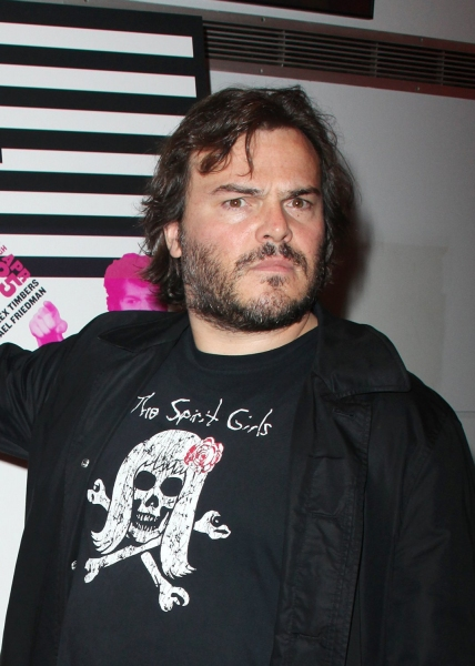 Jack Black at BLOODY BLOODY ANDREW JACKSON Opening