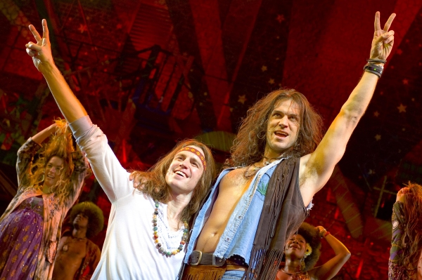Photo Coverage: First Photos of HAIR in London!