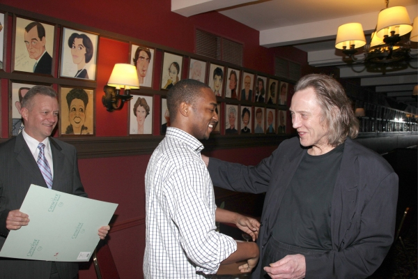 Photo Coverage: Sardi's Honors Christopher Walken with Portrait