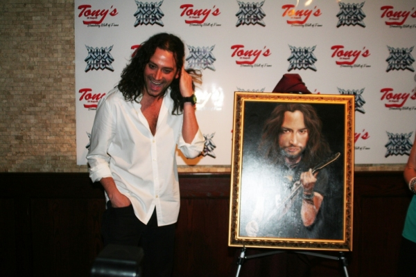 Photo Coverage: Stars Celebrate ROCK OF AGES Anniversary & Constantine Maroulis Portrait at Tony di Napoli's!