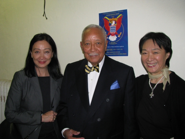 Photo Flash: Mayor David Dinkins Visits Pan Asian Rep's CHING CHONG CHINAMAN