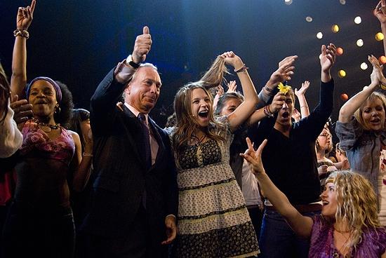 Mayor Michael Bloomberg, Vanessa Ray and Emma Zaks