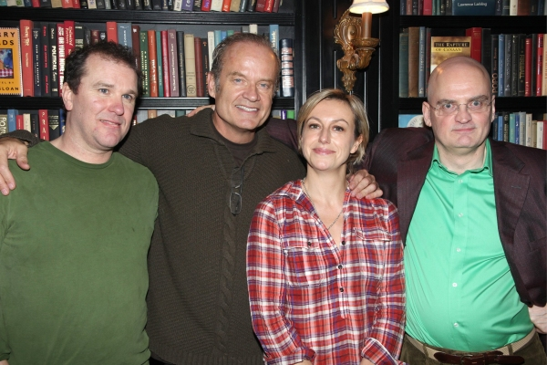 Douglas Hodge, Kelsey Grammer, Lynne Page and Terry Johnson