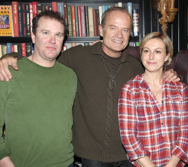 Douglas Hodge, Kelsey Grammer and Lynne Page