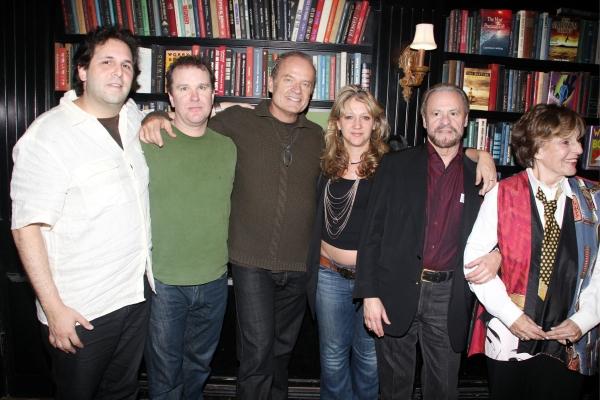 David Babani, Doug Hodge, Kelsey Grammer, Sonia Freidman, Barry Weissler and Fran Weissler