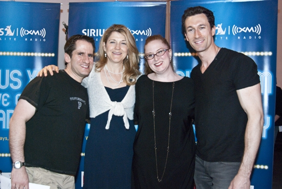 Seth Rudetsky, Victoria Clark, Julie James & Aaron Lazar
