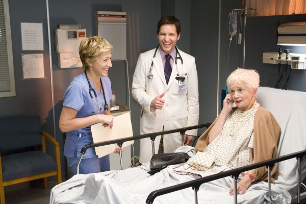 Edie Falco, Peter Facinelli and Barbara Barrie